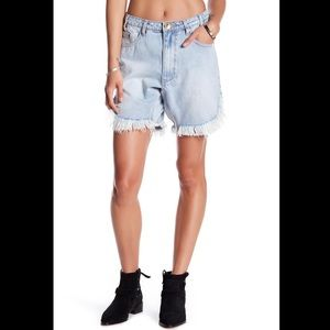 One Teaspoon Brando Frankies denim jean shorts 27